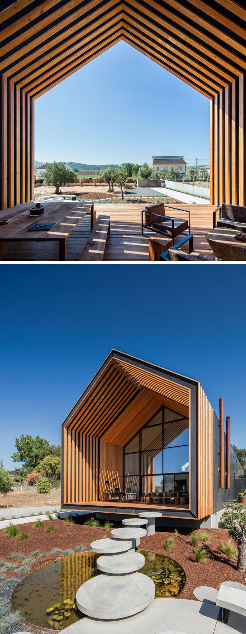 casa moderna arquitetura portugal