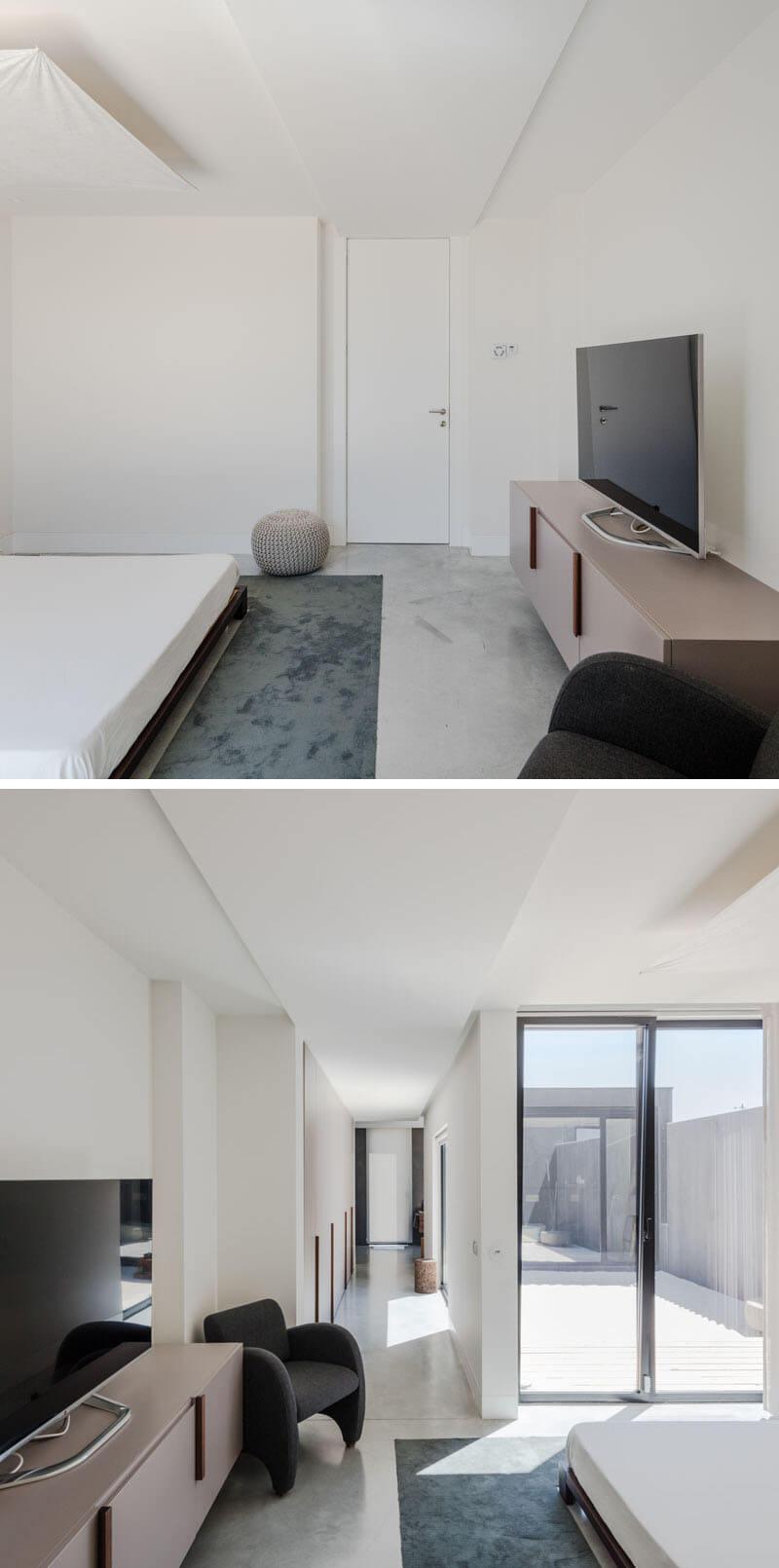 quarto minimalista arquitetura portugal